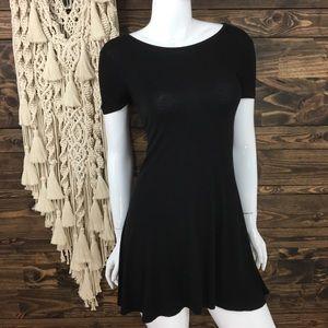 Living Doll | Short Sleeve Mini Swing Dress